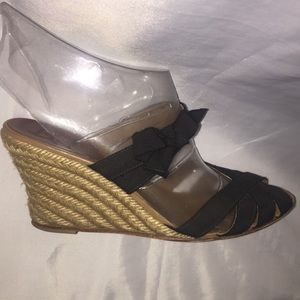 authentic CHRISTIAN LOUBOUTIN Black strappy